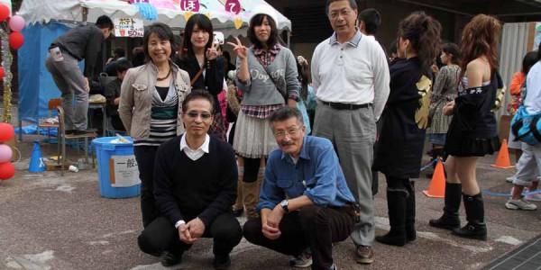 横浜商業文化祭集合