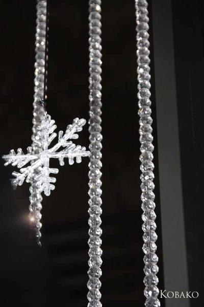 雪の結晶イルミネーション1